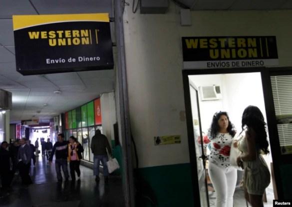 Oficina de Western Union en La Habana