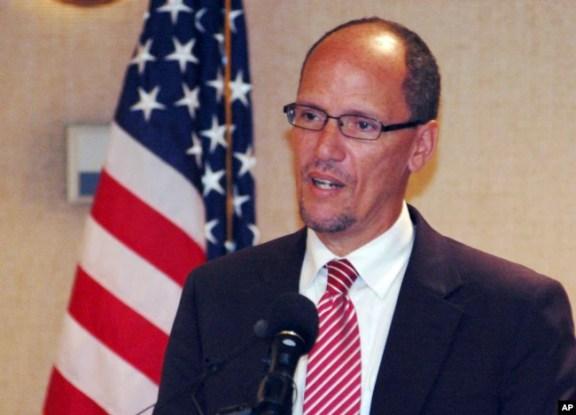 Tom Perez, presidente del Comité Nacional Demócrata, DNC.