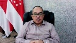 Suryopratomo, Duta Besar Indonesia untuk Singapura, dalam tangkapan layar.