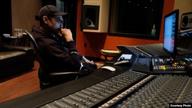 Afgan di studio EMPIRE, San Francisco, California (dok: EMPIRE/Trinity Optima Production)