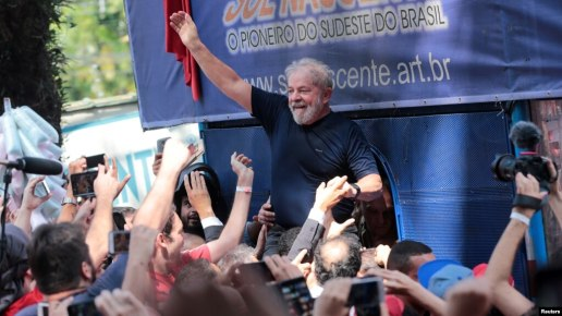 Image score for In Brazil Top Electoral Court Votes Down Lula Candidacy