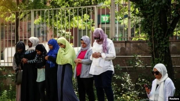 Warga muslim di Kota New York.