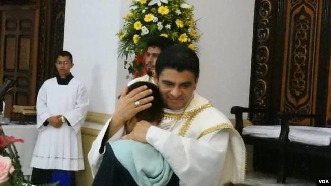 El obispo de la diócesis de Matagalpa, monseñor Rolando José Álvarez Lagos, es un popular sacerdote nicaragüense.