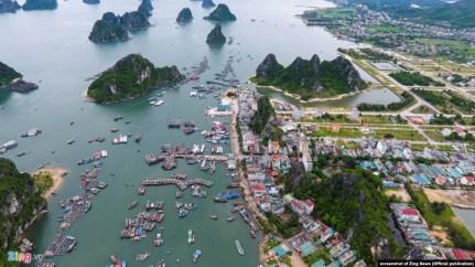 Cảng Cái Rồng, đảo Vân Đồn, tỉnh Quảng Ninh - một trong 3 đặc khu dự kiến của Việt Nam