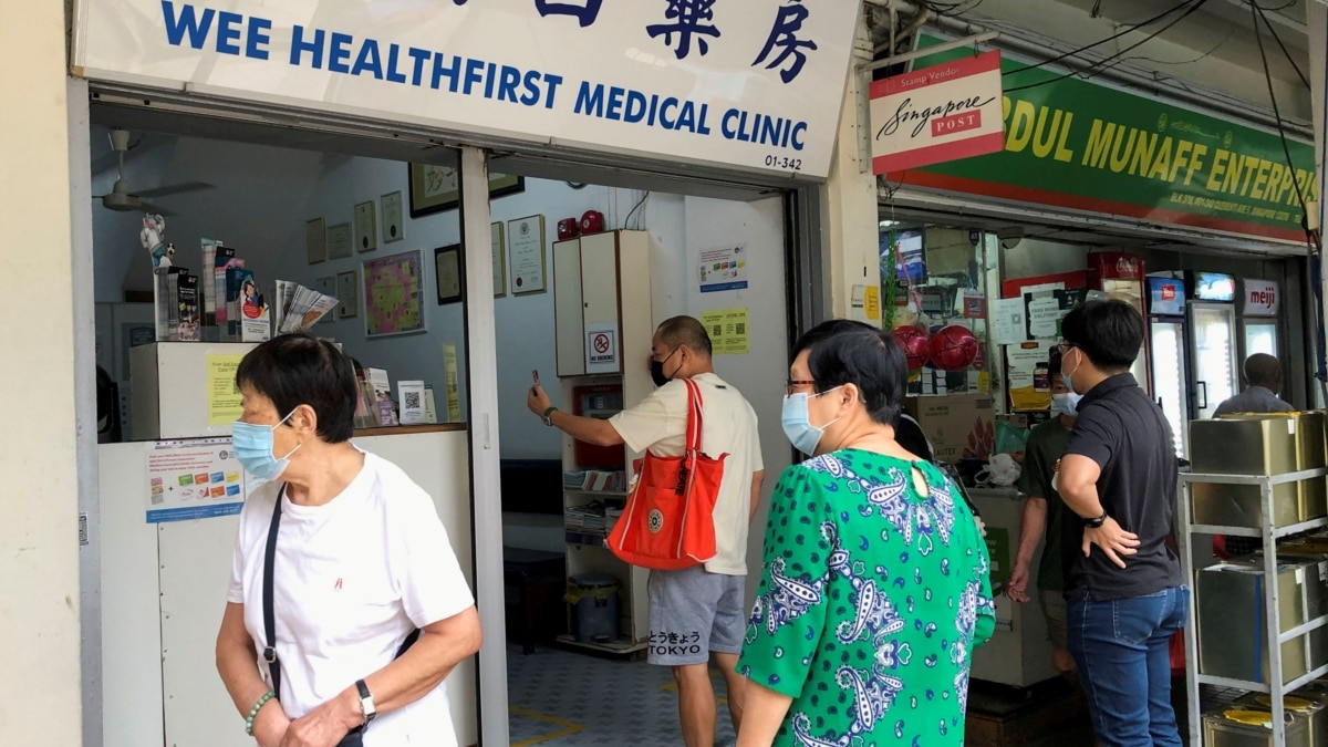 Singapura Setujui 24 Klinik Swasta untuk Inokulasi Vaksin Sinovac