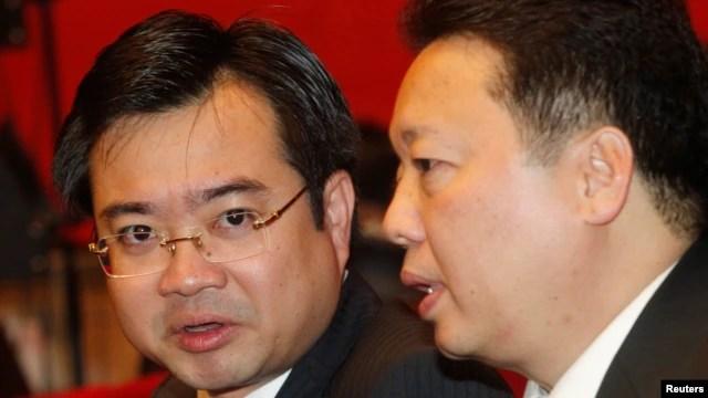 Ông Nguyễn Thanh Nghị (trái), Bí thư tỉnh ủy Kiên Giang, là một trong 200 ủy viên trung ương mới được Đại hội đảng 12 bầu vào Ban chấp hành trung ương