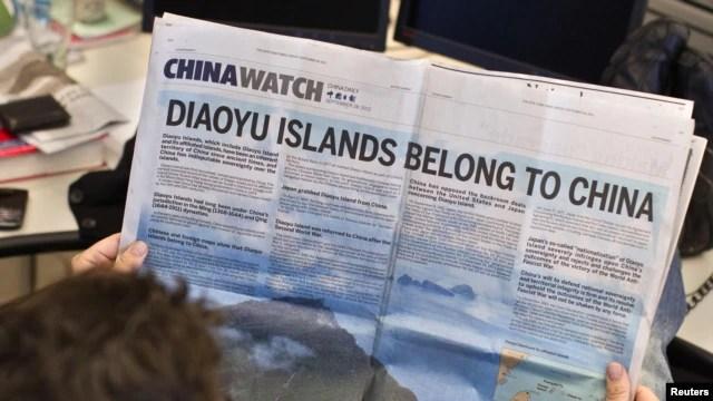 Mối quan hệ Trung-Nhật đã xuống đến mức thấp nhất trong nhiều năm qua vì tranh chấp quanh một nhóm đảo ở biển Hoa Đông.