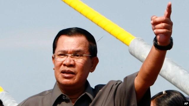 """Phát biểu tại một buổi lễ tốt nghiệp ở Phnom Penh, ông Hun Sen nói rằng """"83% biên giới đã được cắm mốc, và vẫn còn 17% chưa làm"""