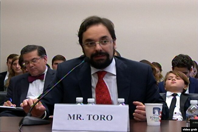 Francisco Toro, director ejecutivo del blog Caracas Chronicles.