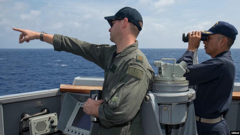 Các cuộc tập trận hải quân do Mỹ, Nhật Bản và Úc thực hiện 'rõ ràng nhắm vào Trung Quốc'.