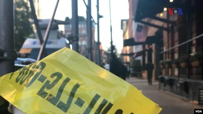 La policía de Nueva York investiga el incidente