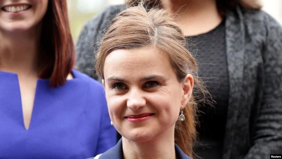 Bà Jo Cox, dân biểu Đảng Lao Động đối lập.