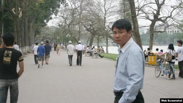 Blogger Trương Duy Nhất. HRW nói phiên tòa xử ông Nhất dự kiến diễn ra ngày 4/3 chứng tỏ quyết tâm của nhà cầm quyền VN nhắm mục tiêu vào những người chỉ trích ôn hòa