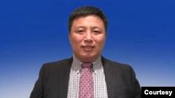 现为美利坚大学访问学者的前中国人权律师陈建刚