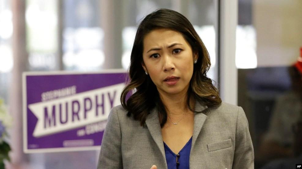 Bà Stephanie Murphy, phụ nữ gốc Việt đầu tiên ở Florida vào Hạ viện Hoa Kỳ.
