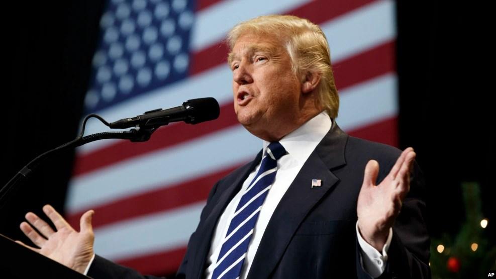 Ông Trump sẽ chính thức bước vào Tòa Bạch Ốc trong lễ tuyên thệ vào ngày 20/1.