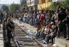 Serbia và Macedonia trở thành điểm trung chuyển chính cho hàng chục ngàn di dân đang tìm cách đến châu Âu trong những tháng gần đây.