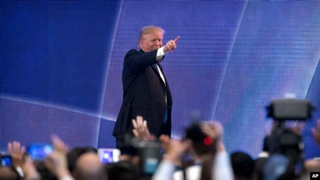 Tổng thống Trump tại Đà Nẵng