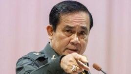 """Ông Prayuth cảnh báo các nhà báo hãy tự chế chớ nên tường thuật điều gì có thể gây """"xung đột"""" nếu không họ có thể bị """"hành quyết"""" như một biện pháp trừng trị."""