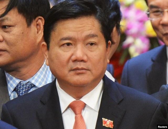 Ông Đinh La Thăng, tân Bí thư thành ủy Sài Gòn.