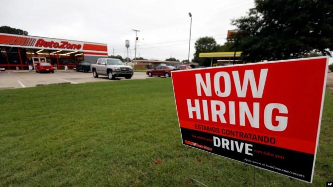 Đến thang 12/2018, các hãng Mỹ đã tuyển dụng thêm hàng trăm ngàn người lao động