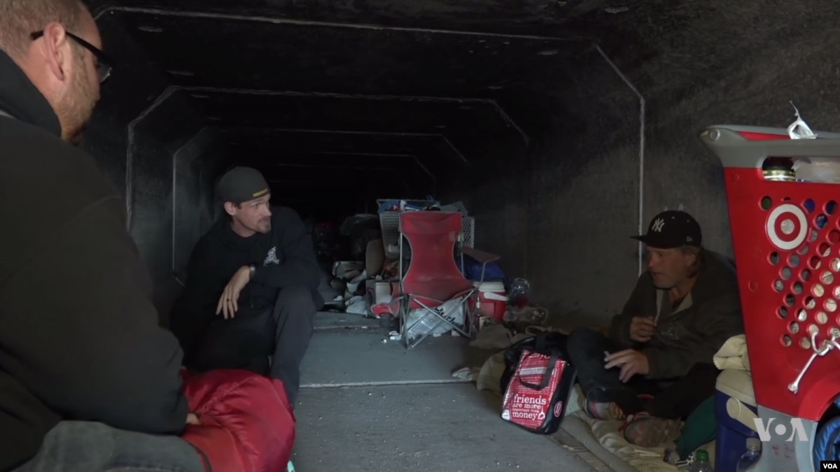 Las Vegas Loses Luster For Homeless Living In Underground