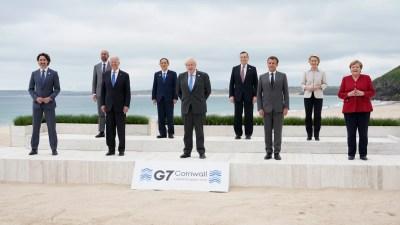 KTT G-7 Dimulai, Bawa Pesan 'Membangun Kembali dengan Lebih Baik'