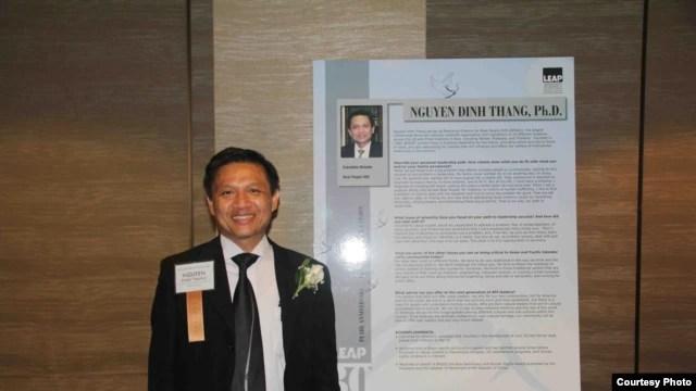 Tiến sĩ Nguyễn Ðình Thắng, Giám đốc điều hành tổ chức BPSOS.