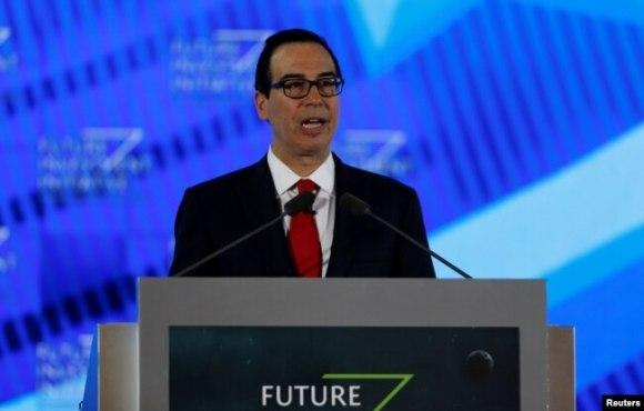 Secretario del Tesoro de EE.UU., Steven Mnuchin.