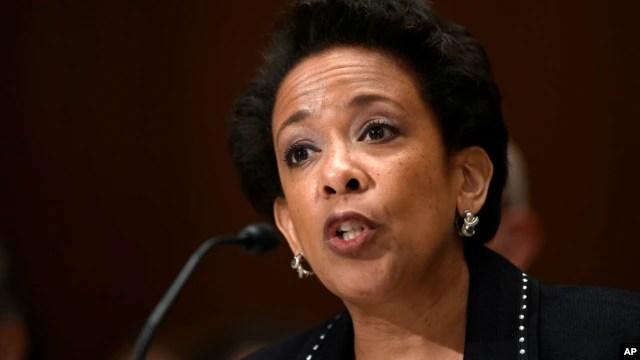 Bộ trưởng Tư pháp Mỹ Loretta Lynch