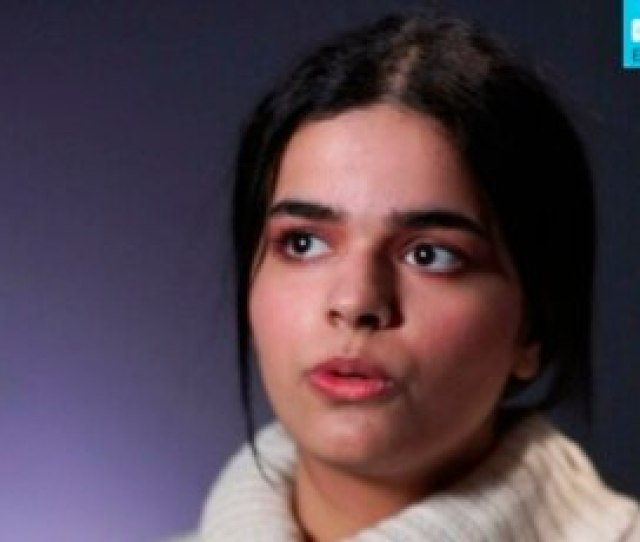 In This Image Made From A Video Rahaf Mohammed Al Qunun Saudi Woman