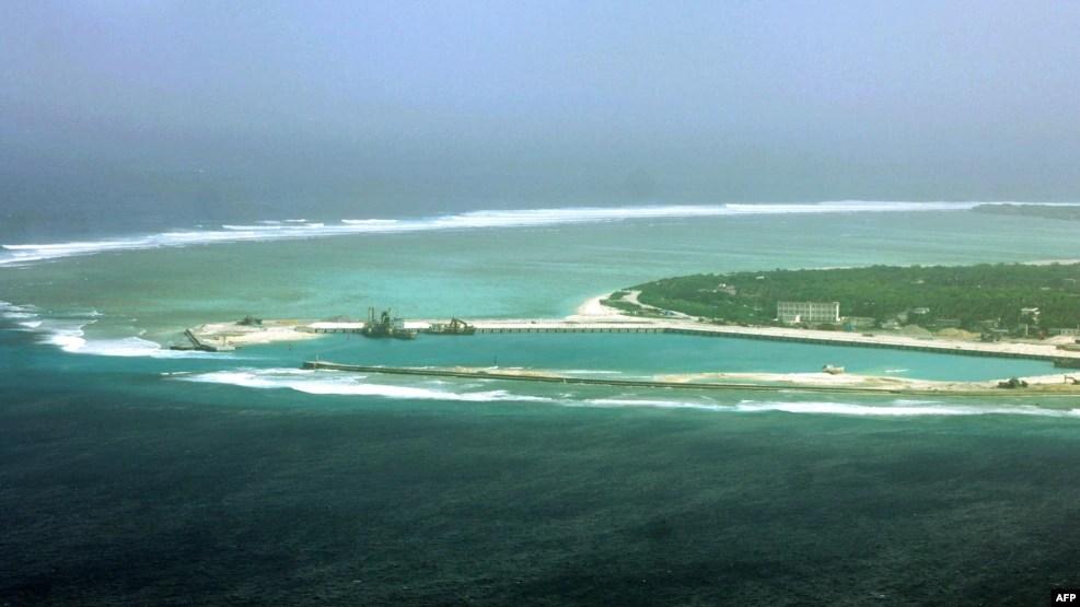 Thành phố Tam Sa được thành lập vào năm 2012 trên đảo Phú Lâm, thuộc quần đảo Hoàng Sa, nơi Việt Nam tuyên bố chủ quyền.