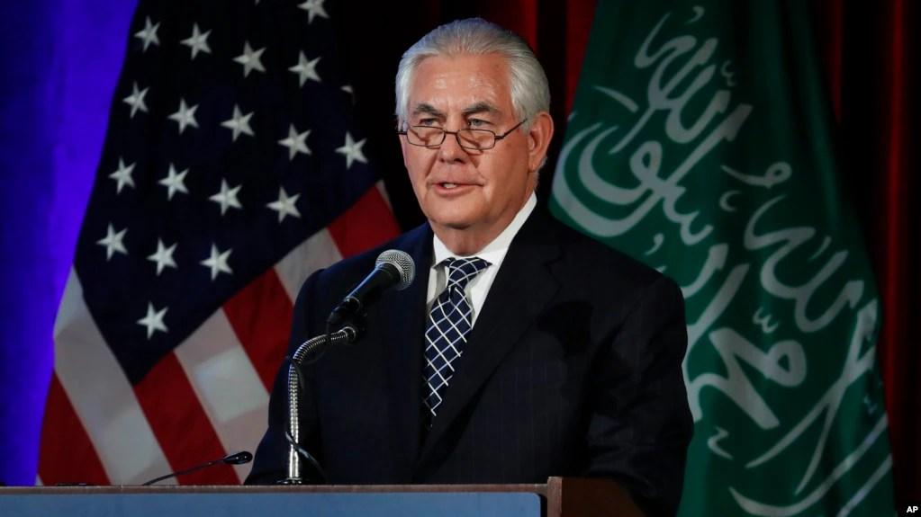 Image result for Rex Tillerson saudi arabia summit
