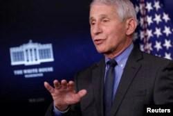 Dr. Anthony Fauci, pakar penyakit menular AS