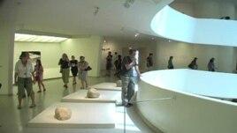 Bên trong Bảo tàng viện Guggenheim ở New York