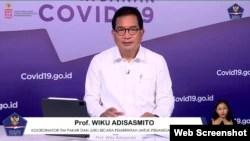 Jubir Satgas Penanganan COVID-19 Prof Wiku Adisasmito. (Foto:VOA)