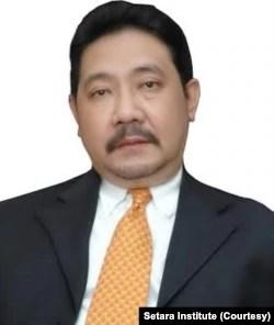 Ketua Setara Institute Hendardi. Foto: Setara