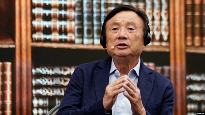 Ông Nhậm Chính Phi, người sáng lập và là Giám đốc điều hành của Huawei.