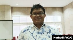 Riris Andono Ahmad, pengajar di FKKMK UGM. (Foto: VOA/ Nurhadi)