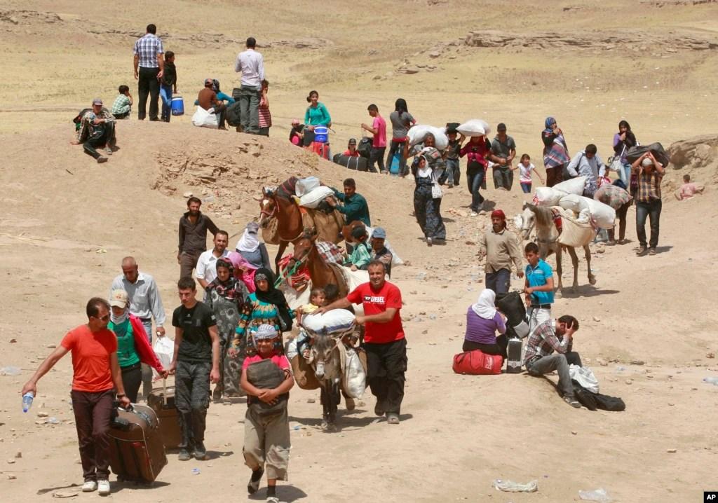 敘利亞鄰國為難民尋求援助