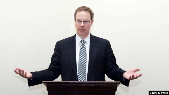 Tiến sĩ Scott Flipse, chuyên gia về Việt Nam và hiện là Phó Giám đốc đặc trách nghiên cứu chính sách của USCIRF.