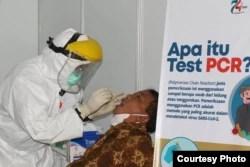 Tes PCR bagi ASN Pemkot Solo di Kompleks Balaikota Solo, Sabtu, 18 Juli 2020. (Foto : Pemkot Surakarta)