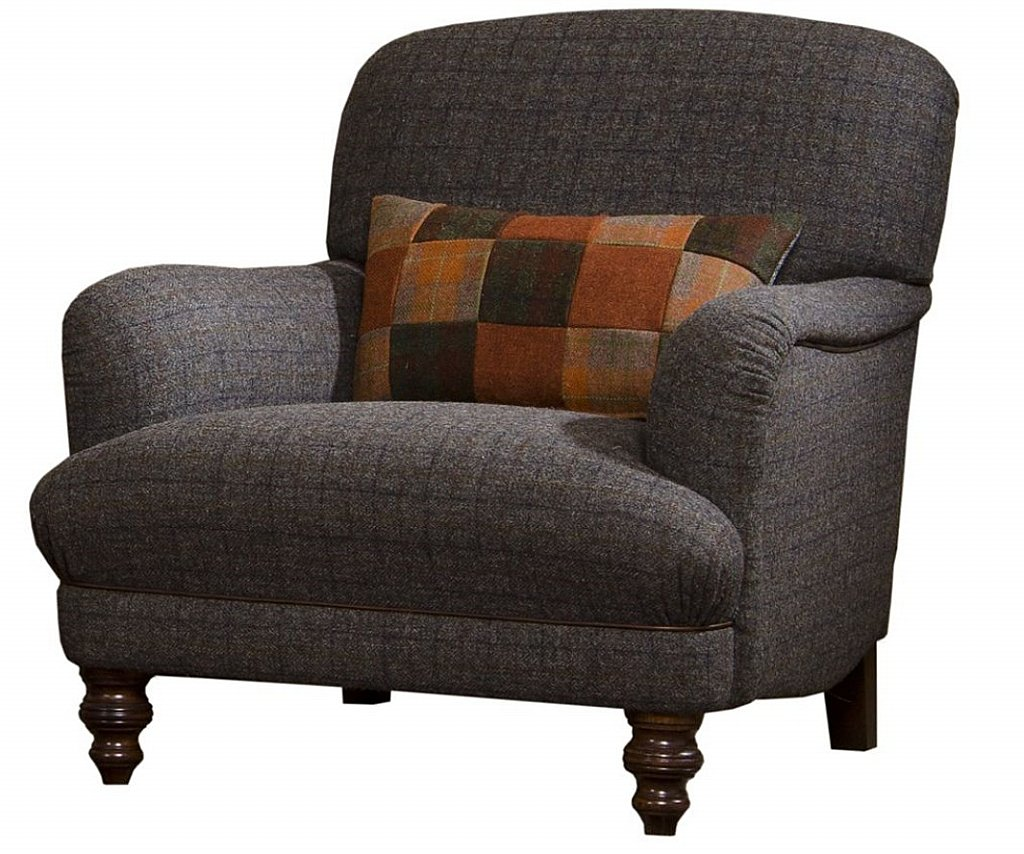 Tweed Chair Harris Tweed Braemar Chair