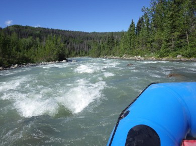 Rafting on the Tatshenshini