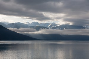 The view from Lutak Road north of Haines