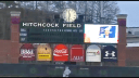 Here is a picture of the scoreboard with new head baseball coach Sunny Golloway.