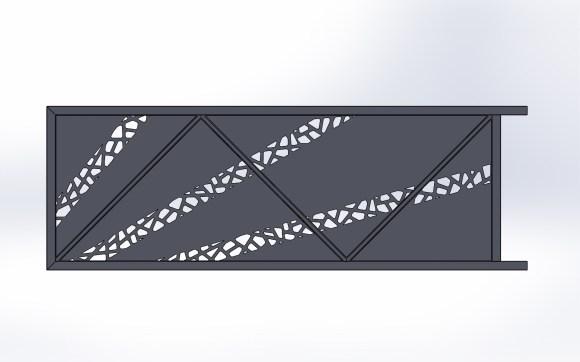 Portail coulissant-métal-Vinay-design-automatisé