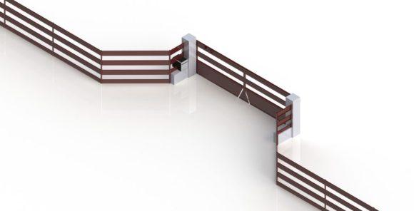 Portail coulissant-métal-Voiron-design-automatisé-barrière-conception2