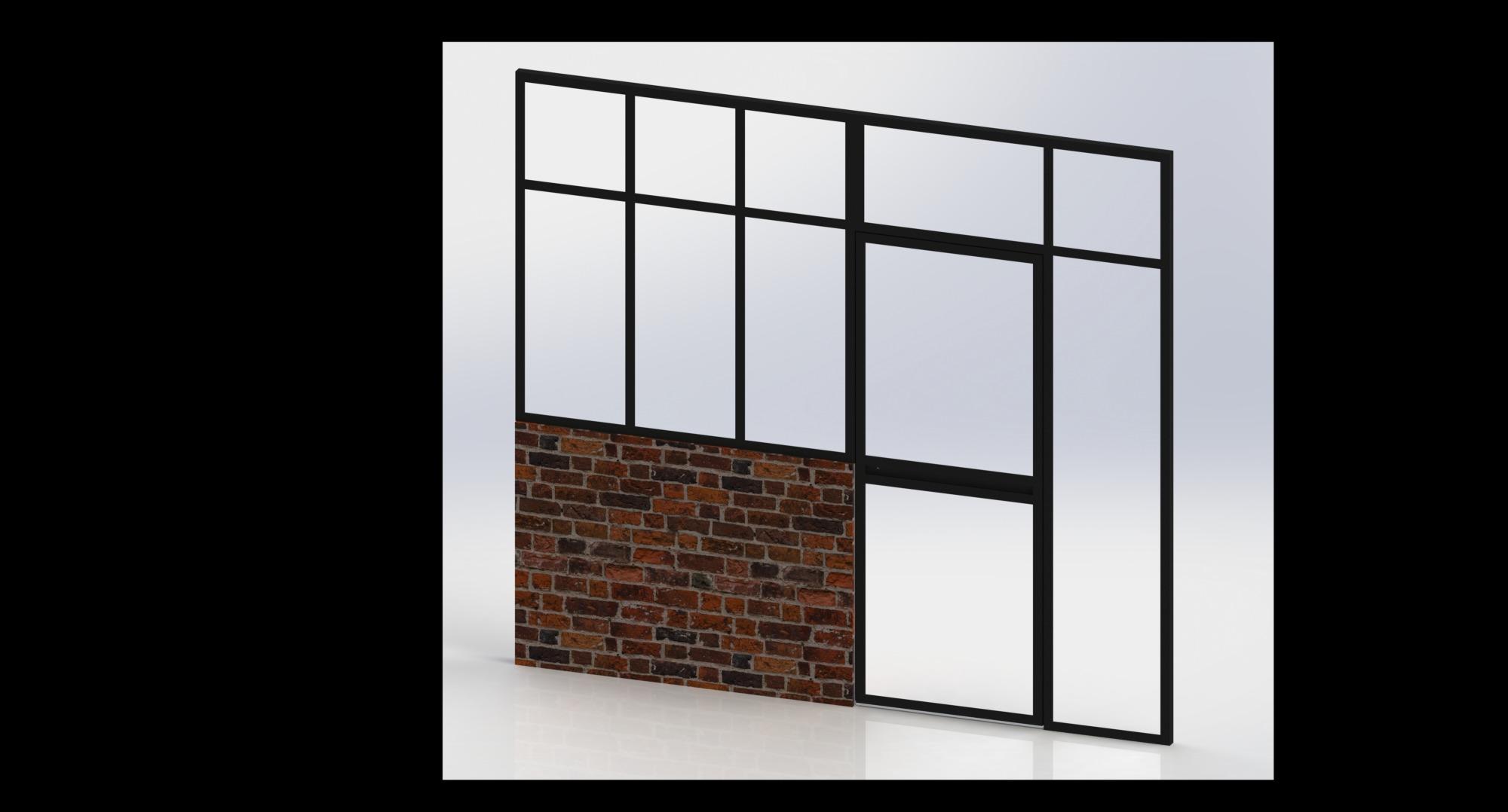 Verrière-porte-acier-atelier-design-Isère-conception