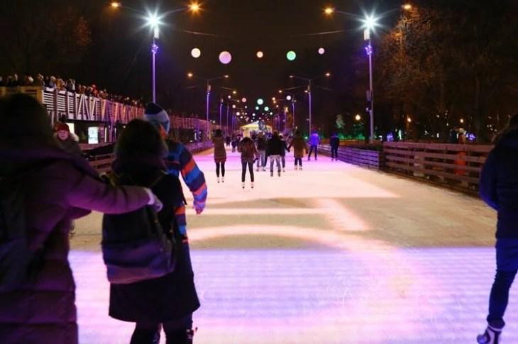 Каток в Парке Горького